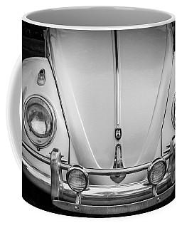 1960 Volkswagen Beetle Vw Bug   Bw Coffee Mug