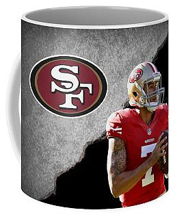 49ers Colin Kaepernick Coffee Mug by Joe Hamilton