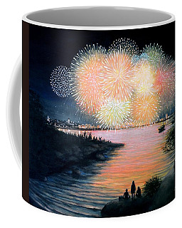 4th Of July Gloucester Harbor Coffee Mug by Eileen Patten Oliver