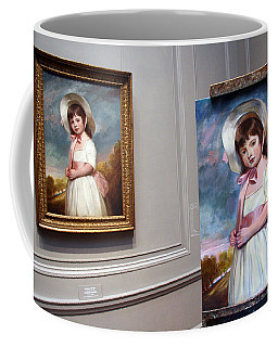 Coffee Mug featuring the photograph A Painting Of A Painting by Cora Wandel