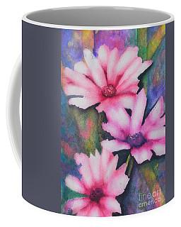 A Touch Of Pink Coffee Mug by Chrisann Ellis