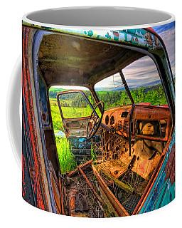 Abandoned Rusting Truck Coffee Mug