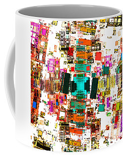 Abstract Geometric Art Coffee Mug