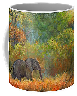 African Elephant Coffee Mug