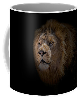 Coffee Mug featuring the photograph African Lion by Peter Lakomy