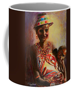 African Mother And Child Coffee Mug