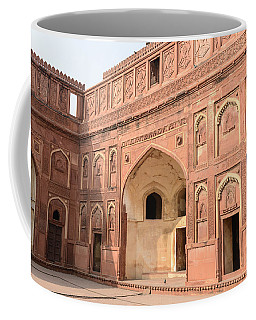 Agra Fort Tourist Destination In India Coffee Mug