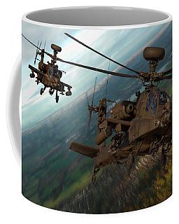 2 Ah64 Apache Coffee Mug by Ken Brannen
