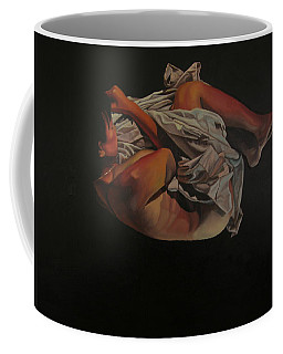 Coffee Mug featuring the painting 2 Am by Thu Nguyen