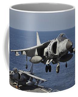 An Italian Navy Av-8b Harrier II Coffee Mug