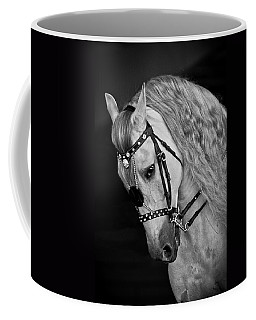 Coffee Mug featuring the photograph Andalusian D9098 by Wes and Dotty Weber