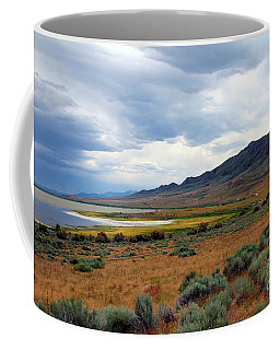 Coffee Mug featuring the photograph Antelope Island by Jemmy Archer