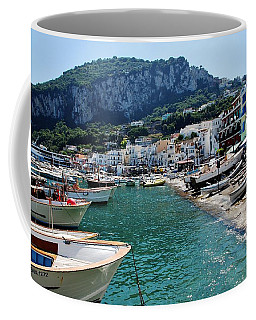 Arrival To Capri  Coffee Mug