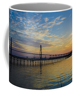 Coffee Mug featuring the photograph Magical Blue Skies by Dale Powell