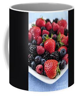 Assorted Fresh Berries Coffee Mug