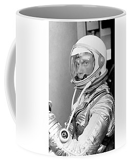 Astronaut John Glenn - Mercury Atlas 6 Coffee Mug