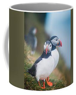 Atlantic Puffins Fratercula Arctica Coffee Mug