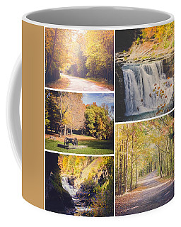 Autumn At Letchworth Coffee Mug