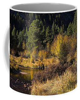 Autumn In The Rockies Coffee Mug by Anne Rodkin