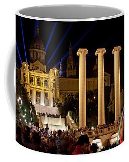 Barcelona By Night Coffee Mug