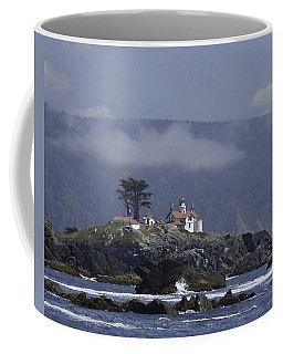 Coffee Mug featuring the photograph Battery Point Lighthouse by Betty Depee