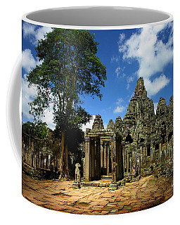 Bayon Temple View From The East Coffee Mug