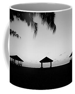 Coffee Mug featuring the photograph Beach Huts by Amar Sheow
