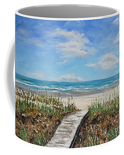 Beach Walkway Coffee Mug