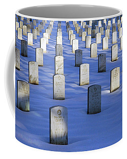 Coffee Mug featuring the photograph Beneath The Snow by Cora Wandel