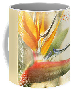 Bird Of Paradise - Strelitzea Reginae - Tropical Flowers Of Hawaii Coffee Mug