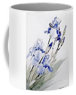 Blue Irises Coffee Mug