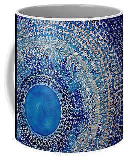 Blue Kachina Original Painting Coffee Mug