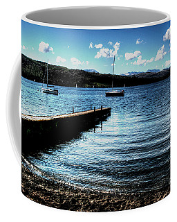 Coffee Mug featuring the photograph Boats In Wales by Doc Braham