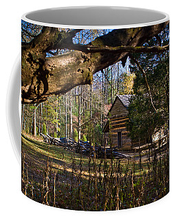 Cades Cove Cabin  Coffee Mug