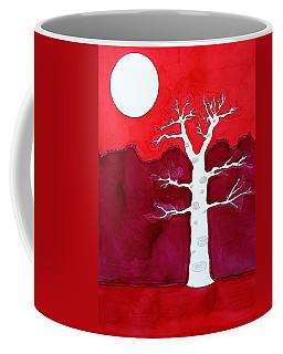 Canyon Tree Original Painting Coffee Mug