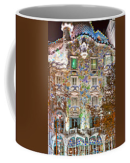 Casa Batllo - Barcelona Coffee Mug by Luciano Mortula