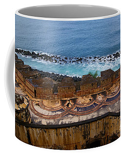 Coffee Mug featuring the photograph Castillo San Felipe Del Morro by Olga Hamilton