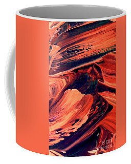Coffee Mug featuring the painting Catalyst by Jacqueline McReynolds