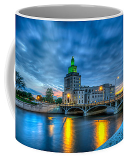 Cedar Rapids Mays Island At Sunset Coffee Mug