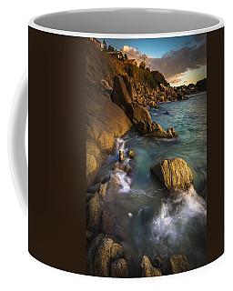 Chanteiro Beach Galicia Spain Coffee Mug by Pablo Avanzini
