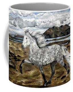 Charismatic Icelandic Horse Coffee Mug