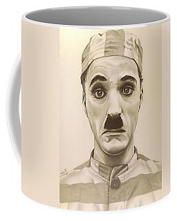 Vintage Charlie Chaplin Coffee Mug by Fred Larucci