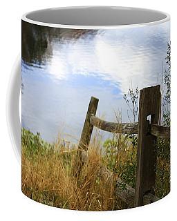 Cloud Reflections Coffee Mug by Deborah Benoit