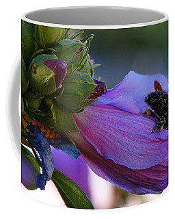 Coffee Mug featuring the photograph Collecting Pollen by Jennifer Muller