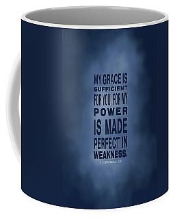 2 Corinthians 12 9 Coffee Mug