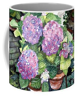 Corner Garden Coffee Mug by Barbara Jewell