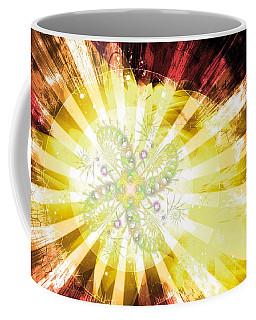 Cosmic Solar Flower Fern Flare 2 Coffee Mug