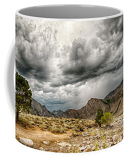Dark Skies At Grant Lake Coffee Mug