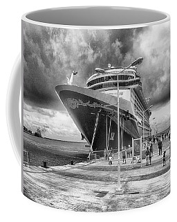 Coffee Mug featuring the photograph Disney Fantasy by Howard Salmon