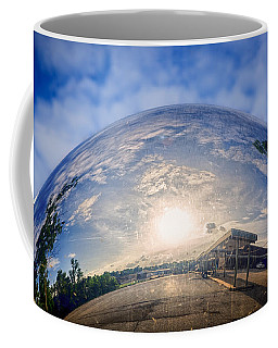 Distorted Reflection Coffee Mug by Sennie Pierson